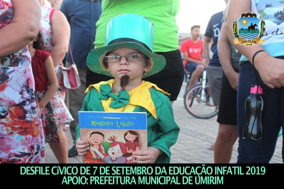 DESFILE CÍVICO DA EDUCAÇÃO INFANTIL NA SEDE