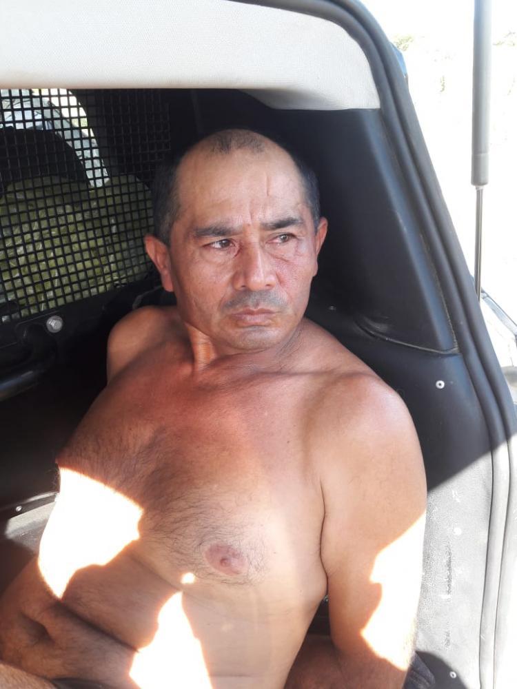 José Wilson de Sousa, 47 anos foi preso suspeito de cometer o crime. - Foto: Adriano Furtado