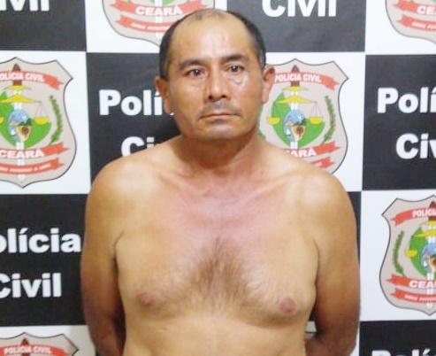 José Wilson de Sousa, 47 anos, que confessou ter matado sua sobrinha