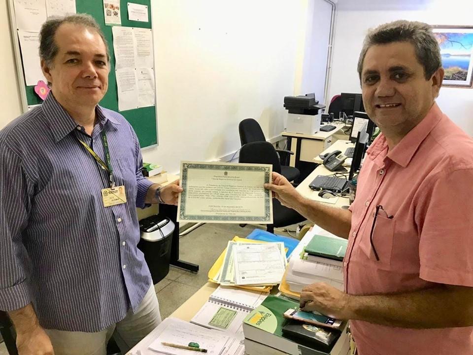 Ex-prefeito de Tejuçuoca assumirá vaga na Assembleia Legislativa do Ceará