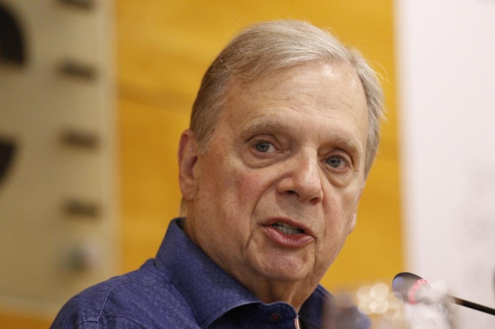 Tasso Jereissati (PSDB-CE) é o relator da proposta da reforma da Previdência no Senado (Foto: Tatiana Fortes/Tatiana Fortes)