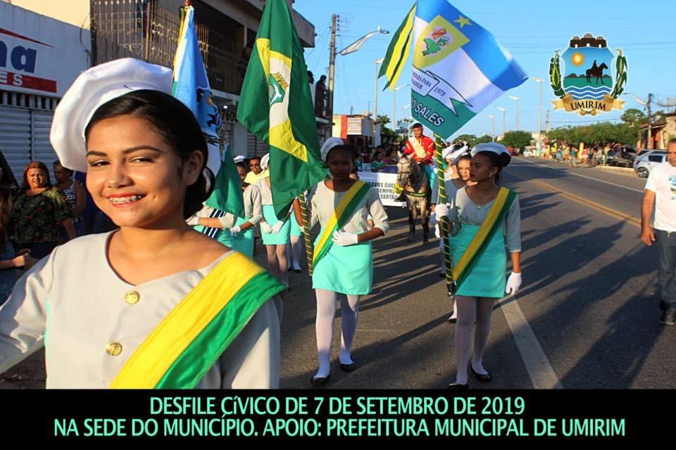 Desfile Cívico em Umirim; galeria de fotos