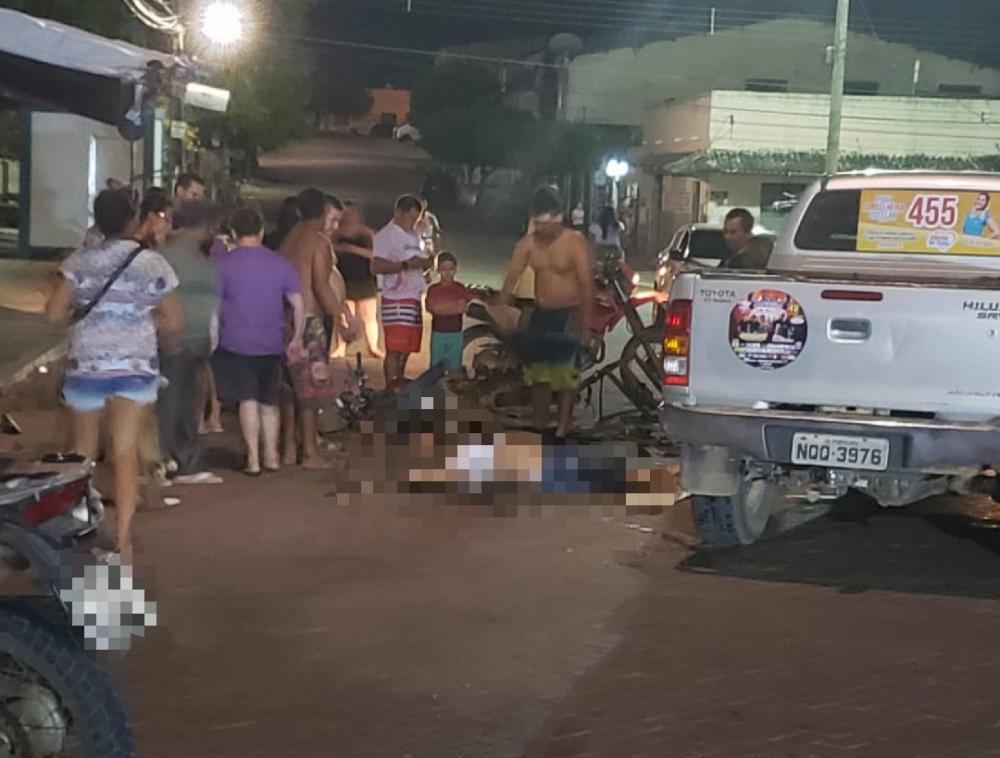 O acidente ocorreu no Centro da cidade