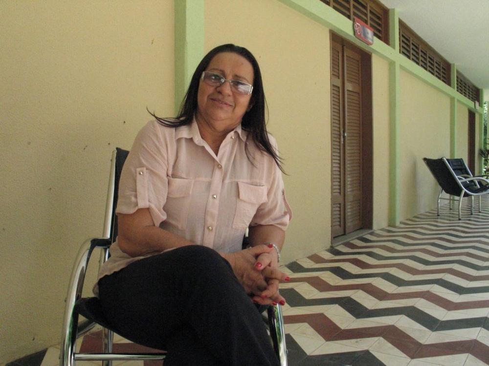Prefeita de Quixelô sofre atentado durante sua festa de aniversário — Foto: Arquivo pessoal