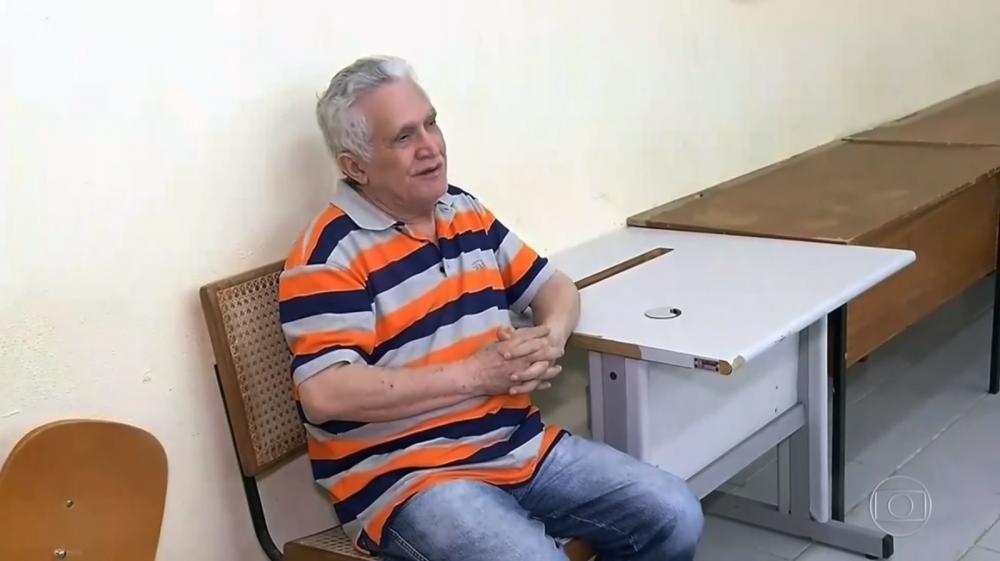 José Hilton de Paiva é denunciado por estuprar e filmar mulheres durante décadas — Foto: TV Globo/Reprodução