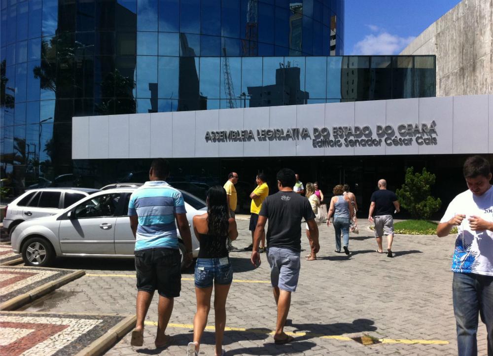 Assembleia Legislativa do Ceará passa por processo de modernização que compreende a contratação de novos servidores — Foto: Luana Andrade/G1