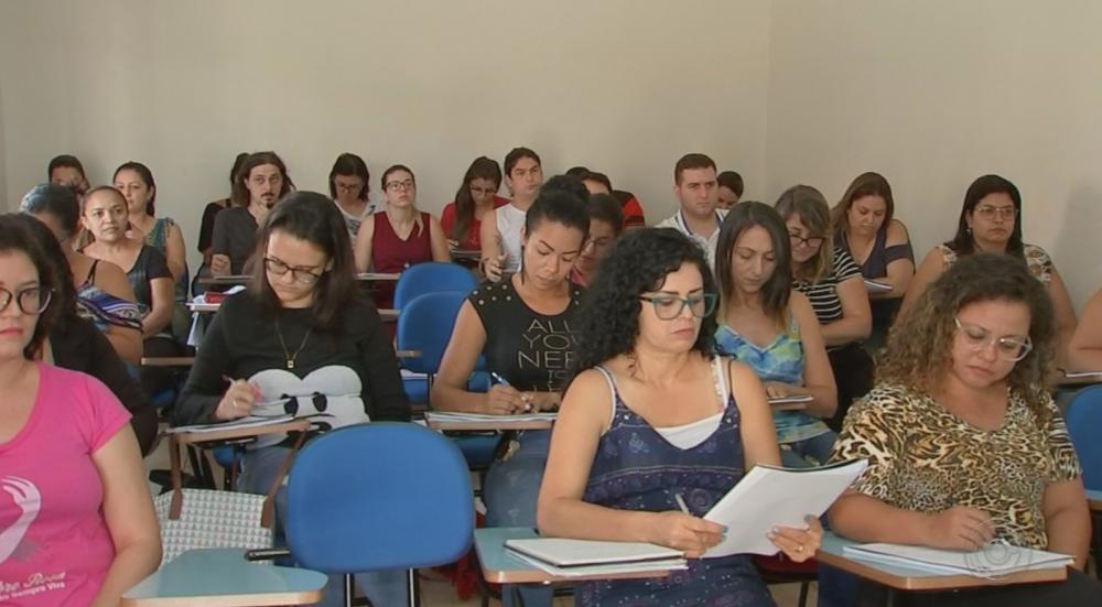 Inscrições para concurso da Prefeitura de São Gonçalo do Amarante seguem até o dia 23 de novembro. — Foto: Reprodução/TV TEM