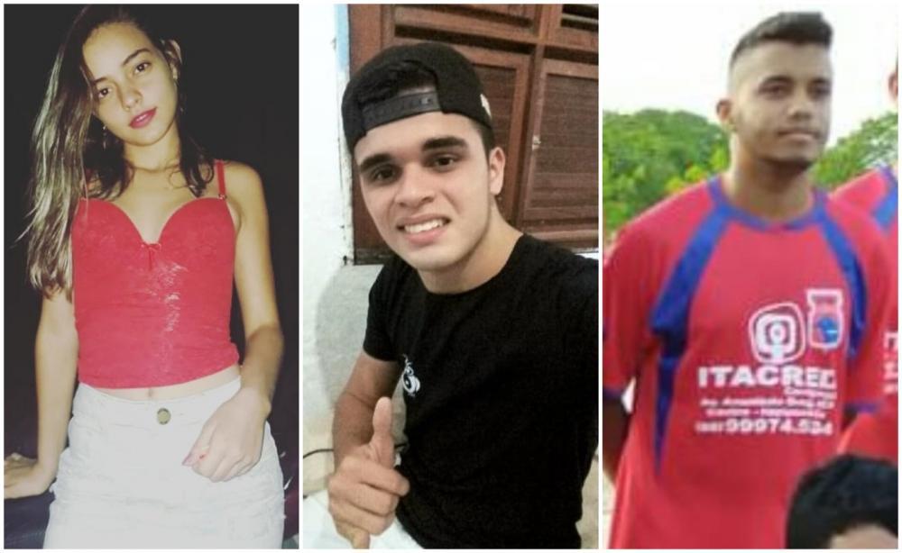 Três jovens morrem em acidente de motocicleta no Ceará — Foto: Arquivo pessoal