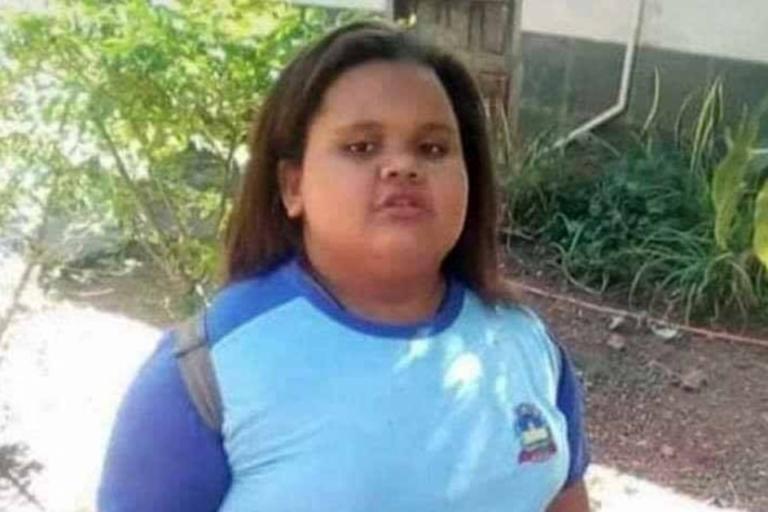 Garota de 10 anos morreu engasgada após engolir pirulito Foto: Arquivo Pessoal