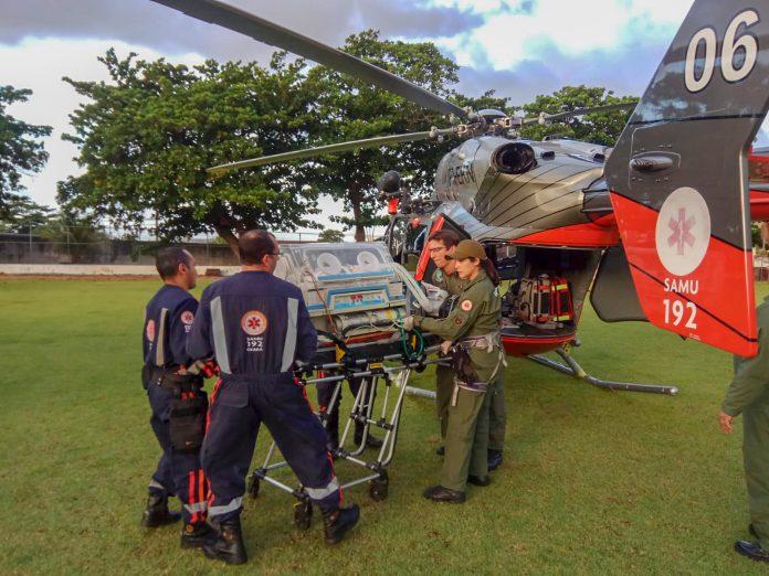 Criança nasce no banheiro da UPA de Itapipoca e é socorrida por helicóptero da CIOPAER (VEJA VÍDEO)