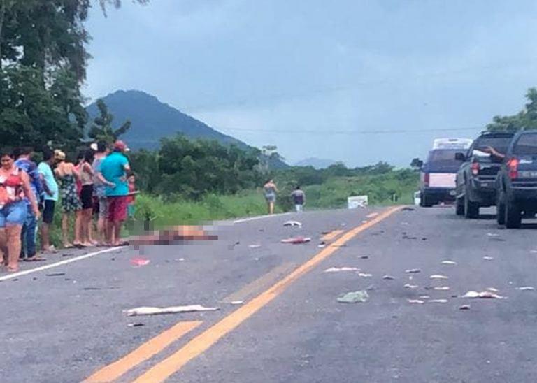 Motociclista morre em acidente na BR-402 no distrito de Deserto em Itapipoca
