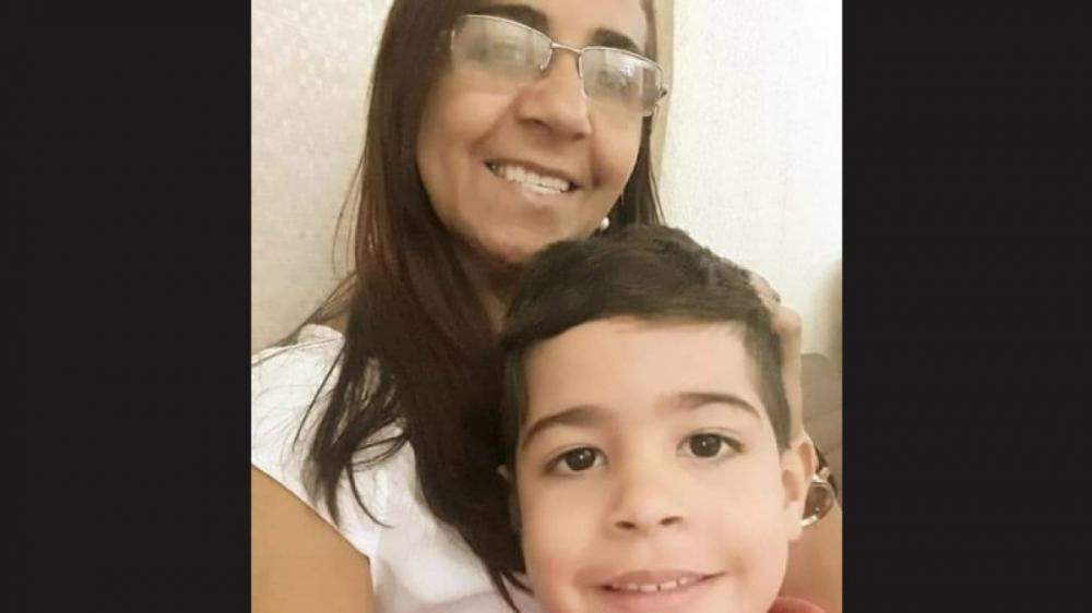 Mãe e filho faleceram no local do acidente