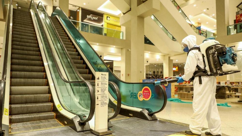 Shoppings se preparam para reabrir operações com protocolos de segurança sanitária nesta segunda