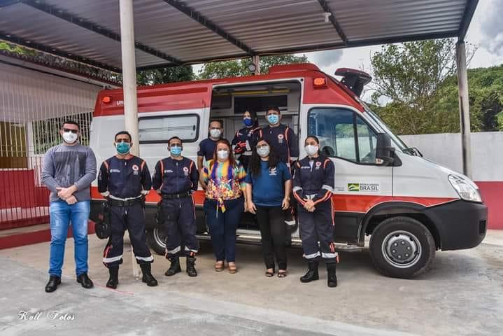 Profissionais do SAMU em Uruburetama alertam população para evitar trotes