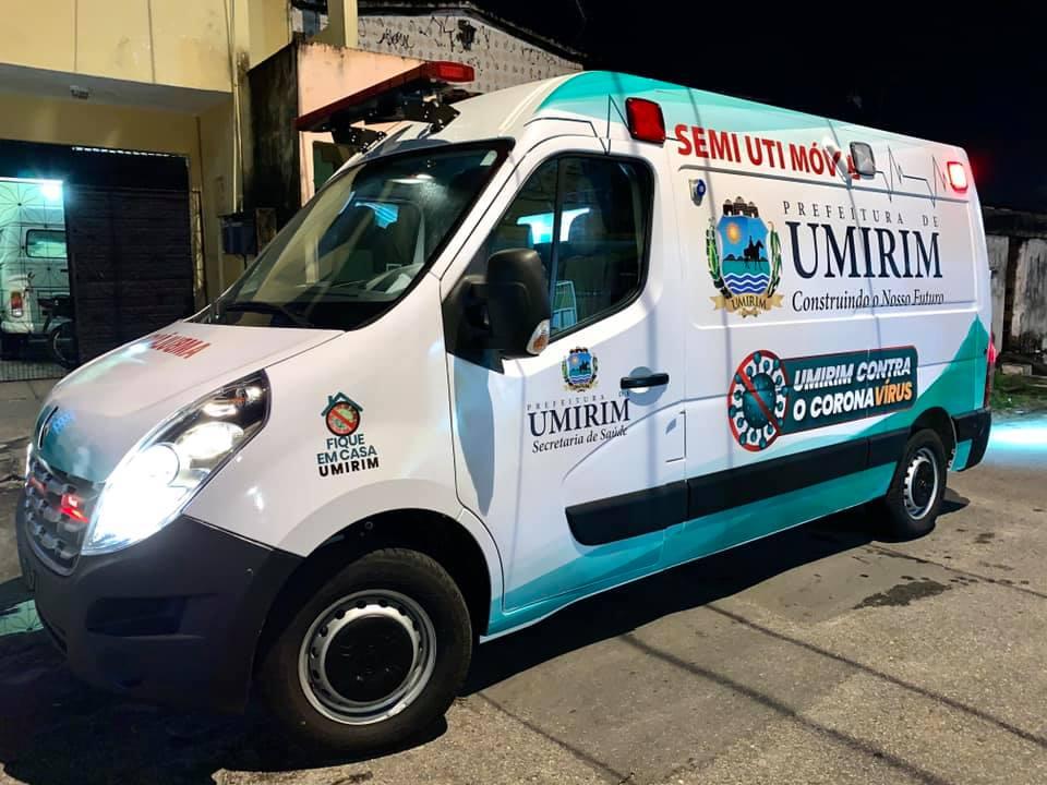 Ambulância semi-UTI adquirida pelo municípío.