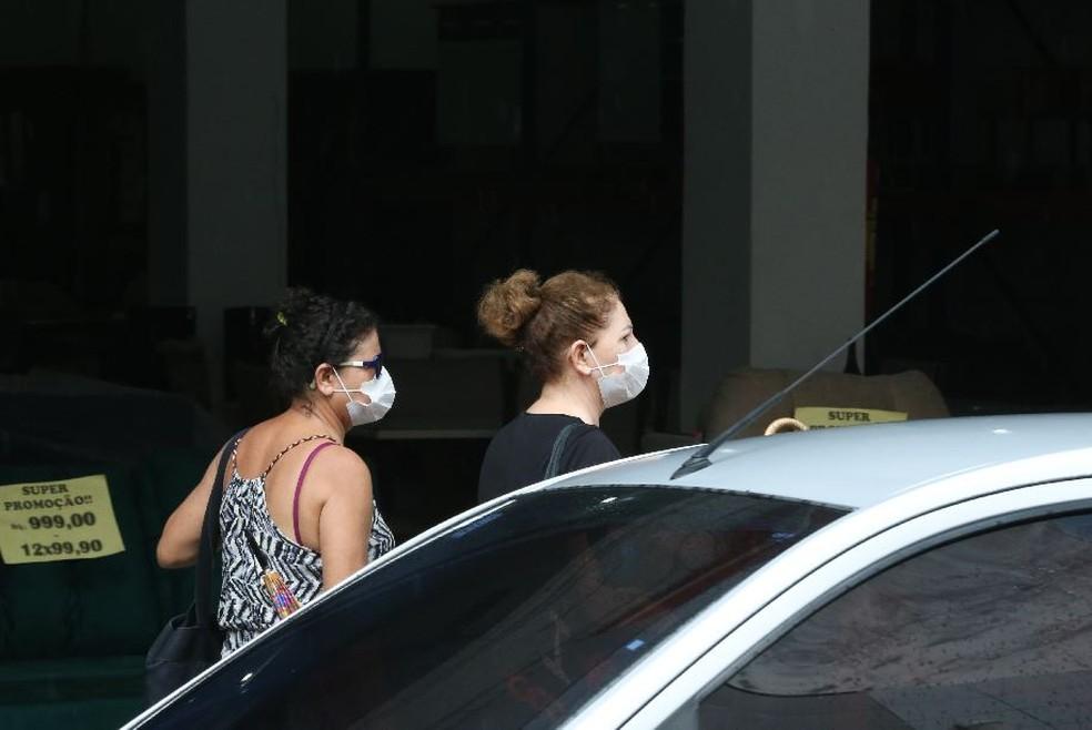Uso de máscaras é recomendado para evitar transmissão da Covid-19 — Foto: Natinho Rodrigues/Sistema Verdes Mares